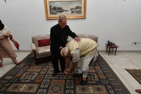 प्रणव मुखर्जींच्या निधनानंतर पंतप्रधान मोदीही झाले भावुक; शेअर केला खास Photo