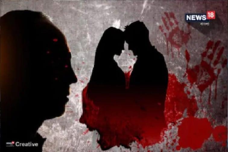 प्रियकरासोबत पळून जाणाऱ्या पत्नीचा खेळ खल्लास, पतीनं मृतदेहाजवळ काढली रात्र