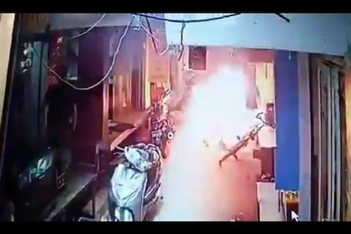 भरदिवसा व्यावसायिकाला जिवंत जाळलं; 90 टक्के भाजलं शरीर, अंगावर शहारे आणणारा VIDEO