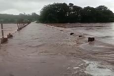कोल्हापूरचे दृश्य पाहून येईल महापुराची आठवण, पाण्याचा भीषण VIDEO