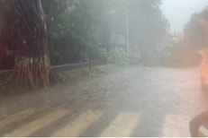 मुंबईत तुफानी पाऊस; इस्टर्न एक्स्प्रेस हायवे बंद, मध्य रेल्वेही ठप्प