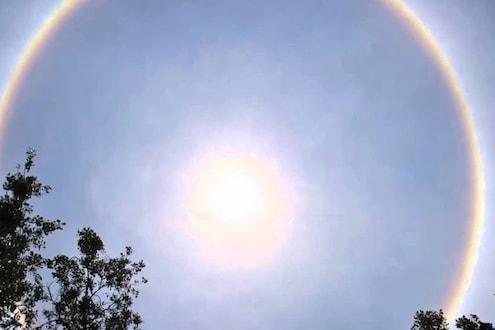 VIDEO: भारताच्या शेवटच्या टोकाला दिसला निसर्गाचा चमत्कार, पाहा सूर्याचं अद्भूत रुप!