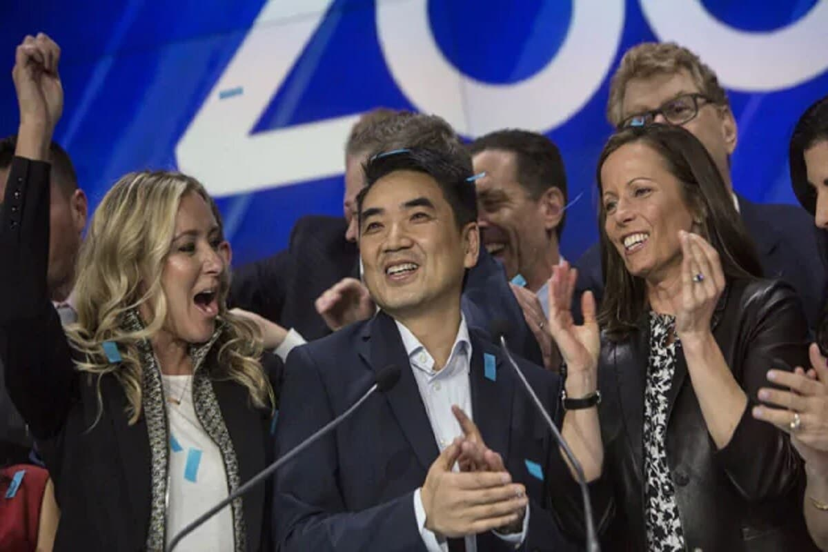 Zoom Video Communications Inc Chief Executive Officer Eric Yuan