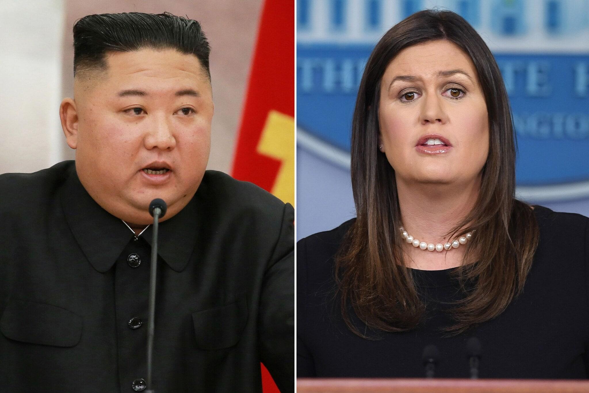 ट्रम्प यांनी साराला मजेदार स्वरात सांगितले की, आता आपण आपल्या फायद्यासाठी उत्तर कोरियाला जात आहोत. द गार्डियनच्या अहवालानुसार, सारा सँडर्सचे पुस्तक स्पीकिंग फॉर मायसेल्फ पुढील मंगळवारी प्रसिद्ध होईल. रिपब्लिकन पक्षाशी संबंधित असलेल्या सारा एका मोठ्या कुटुंबाशी संगल्न आहे. (फोटो- AFP)