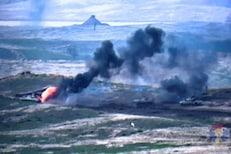 अर्मेनिया-अझरबैजानमध्ये भीषण युद्ध, मिसाइल हल्ल्याचा थरारक LIVE VIDEO आला समोर