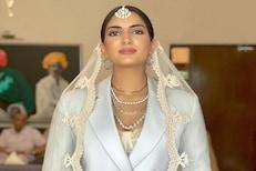 साडी, लेहंगा नाही तर सूट-बूट घातलेली नवरी; इंडियन ब्राइडचं हटके WEDDING OUTFIT