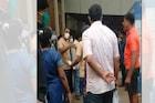 कल्याणमध्ये कोविड रुग्णालयाची तोडफोड, डॉक्टरांना झाली शिविगाळ