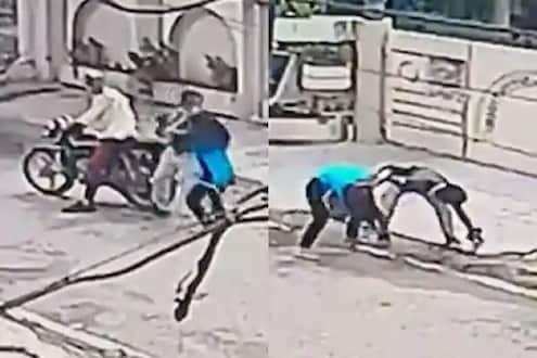 VIDEO - व्वा गं झाशीची राणी! वार झेलले तरी मोबाइल चोरांना सोडलं नाही; 15 वर्षांच्या मुलीची कामगिरी