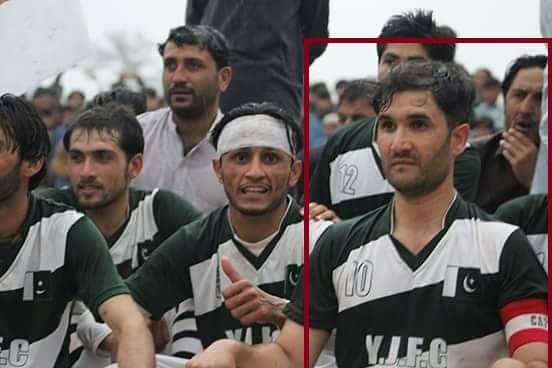 पाकिस्तानच्या क्रीडा विश्वाला शुक्रवारी मोठा धक्का बसला, दोन गटाच्या भांडणामध्ये एका प्रसिद्ध फुटबॉलपटूची हत्या झाली.