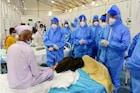 'जम्बो' रुग्णालयाचा गाडा रुळावर, महापौरांनी साधला कोरोनाबाधितांशी संवाद