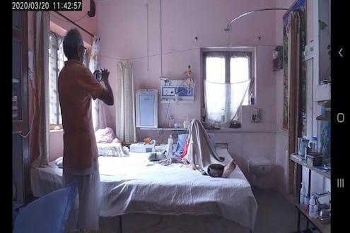 वृद्धानं आजारी पत्नीसाठी घराचं केलं ICU, अशी घेतात आपल्या बायकोची काळजी