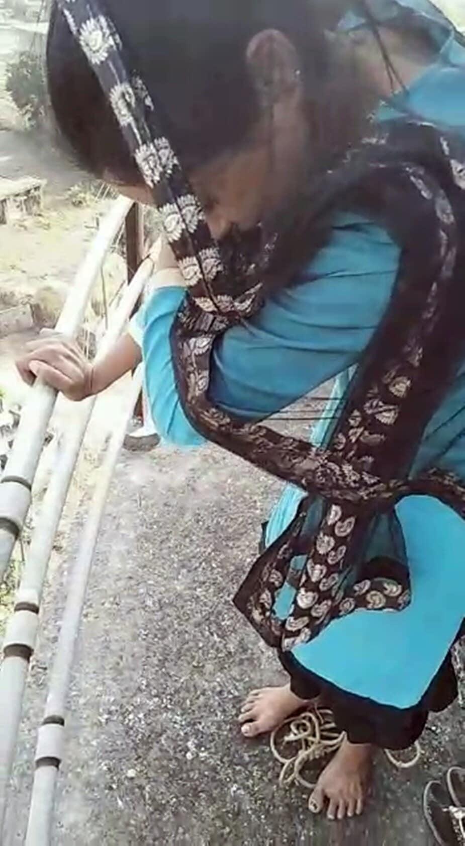 सुधा पूलाजवळील शिवमंदिरजवळ राहणाऱ्या एका युवकाच्या संपर्कात ही महिला होती.