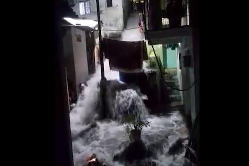 पुण्यात आला 'पूर', जनता वसाहतीतला धक्कादायक VIDEO