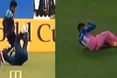IPL 2020 : संजू सॅमसनच्या जबरदस्त कॅचची सचिनशी तुलना, VIDEO VIRAL