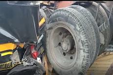 बसची वाट पाहणाऱ्या महिलेवर कोसळली क्रेन, मुंबईतील भीषण अपघाताचा VIDEO समोर