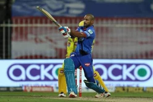 IPL 2020 : धवनच्या शतकाने दिल्लीला जिंकवलं, चेन्नईच्या प्ले-ऑफच्या आशा धुसर