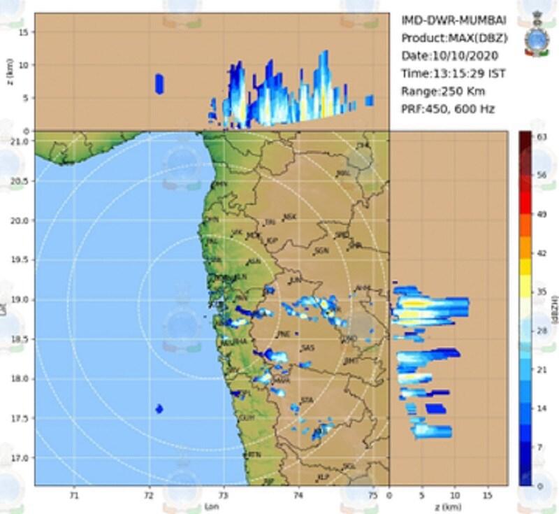 ऑक्टोबरमध्ये अचानक पाऊस सुरू झाला त्यामागचं कारण आहे अंदमानच्या समुद्रातला कमी दाबाचा पट्टा.