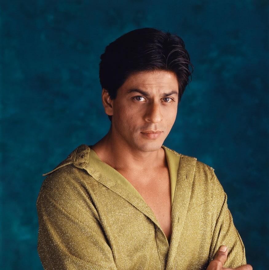 2003 मधील शाहरुख खानचा फोटो. (Image: Getty Images)