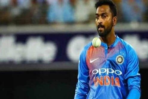 BREAKING: क्रिकेटपटू क्रुणाल पांड्याला मुंबईत घेतलं ताब्यात, हे कारण आलं समोर