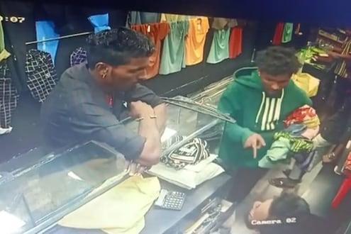 फुकट्या 'भाई'ची दिवाळी खरेदी, दुकानात घुसून लुटले 20 हजाराचे कपडे, पुण्यातील VIDEO