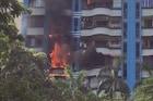 कल्याणमध्ये उच्चभ्रू वस्तीतील इमारतीमध्ये घराला आग, मोठा धोका टळला
