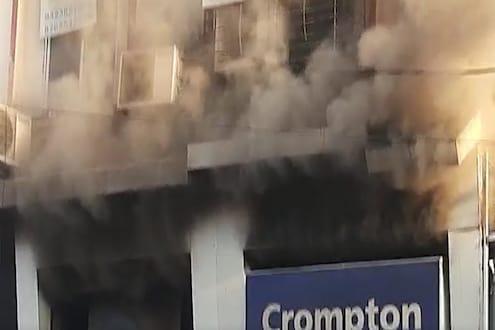VIDEO : नागपुरातील दुकानात भीषण आग, अग्निशमन दलाच्या 5 गाड्या घटनास्थळी