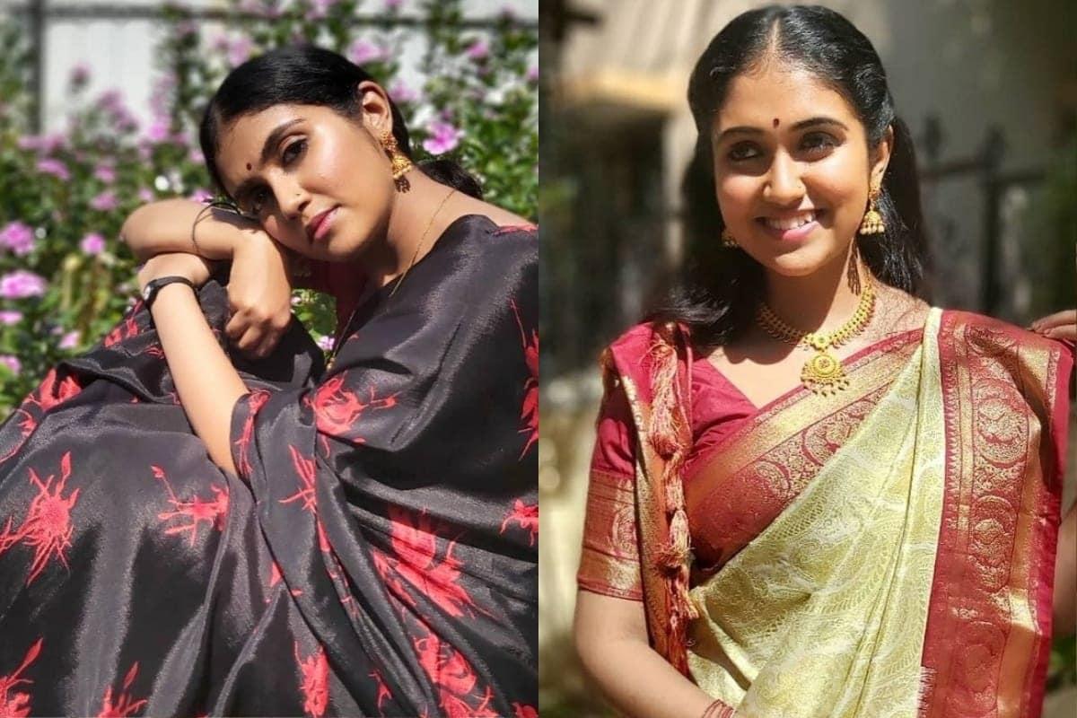 'सैराट' (Sairat) या चित्रपटातून अभिनय क्षेत्रात पदार्पण करणारी अभिनेत्री रिंकू राजगुरुने (Rinku rajguru) ट्रेडिशनल लूकमधले फोटो सोशल मीडियावर शेअर केले आहेत.
