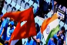 राष्ट्रगीतादरम्यान ऑस्ट्रेलियात भारतीय चाहत्यांनी फडकवला भगवा झेंडा, पाहा VIDEO