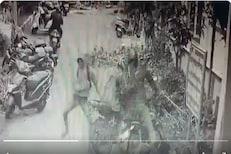 सिनेमातला सीन नव्हे, रिअल लाइफ हीरोचा खरा VIDEO; दुचाकीवरून पाठलाग करत पकडला चोर