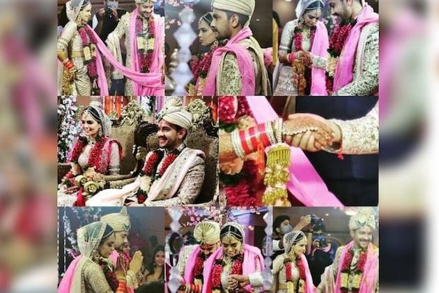 आदित्य नारायण अडकला लग्नाच्या बेडीत, सोशल मीडियावर व्हायरल होत आहेत Wedding Pics