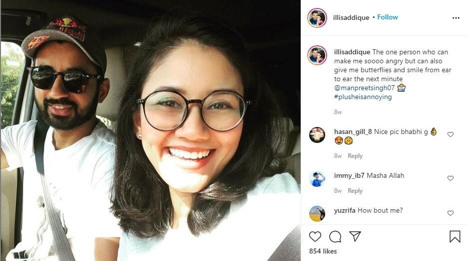 भारतीय जुनिअर संघ 2012 मध्ये सुलतान जोहर कपसाठी(sultan johar cup) मलेशियामध्ये गेला असताना भारतीय हॉकी संघाचा कर्णधार मनप्रीतसिंग आणि इली यांची पहिली भेट झाली होती. त्यानंतर 9 वर्ष एकमेकांना डेट केल्यानंतर दोघांनी लग्नाचा निर्णय घेतला. मनप्रितच्या सोशल मीडियावरील एक फोटो.