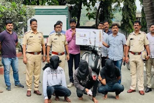 हत्यारांचा धाक दाखवून मुंबई-नाशिक महामार्गावर लूट करण्याचा प्रयत्न, आरोपींना पोलिसांकडून अटक