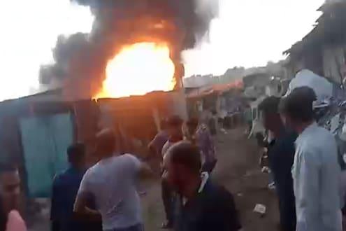 पुन्हा डोंबिवली ब्लास्ट, गोदामाला भीषण आग लागल्यानंतर स्फोट