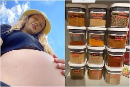 अमेरिकन सुपरमॉडेल Gigi Hadid चं किचन तर पाहा; गर्भारपणात चाखली फक्त भारतीय मसाल्यांची चव