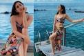 Sara Ali Khan ने मालदीवच्या समुद्रकिनारी प्रिंटेड बिकीनीमध्ये केलं Bold फोटोशूट