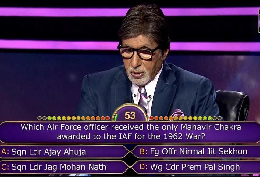 शोमध्ये अमिताभ बच्चन यांच्या कपड्यांचा खर्च 10 लाख रुपये असल्याची माहिती आहे. (फाइल फोटो)