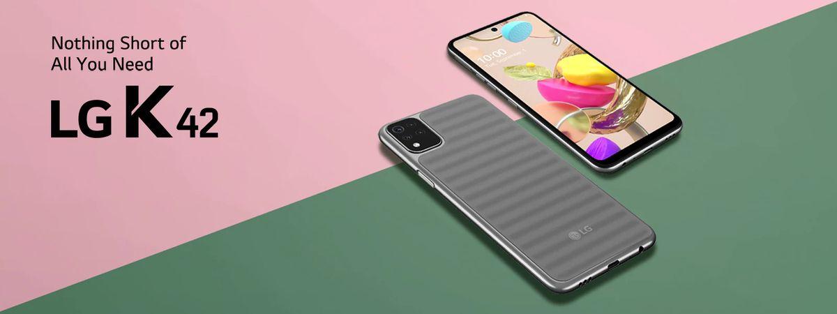 LG K42 स्मार्टफोनची विक्री फ्लिपकार्टवर आज 26 जानेवारीपासून सुरू होईल. LG k42 मध्ये 6.6 इंचाचा डिस्प्ले, रिकॉर्ड कॅमेरा सेटअप, 3 डी साऊंड इंजिन, AI technology आणि 4,000 MAH बॅटरी देण्यात आली आहे. (image: LG India)