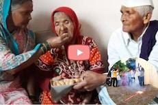VIDEO: आजीला पेढे भरवले आणि फोडले फटाके, अजिंक्य रहाणेच्या गावातला जल्लोष