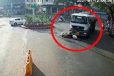 बारामतीतील अंगावर शहारे आणणारी घटना, अपघाताचा धक्कादायक VIDEO