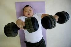 वय 10 वर्षे, वजन 85 किलो; मोठ-मोठ्यांना कुस्तीत सहज लोळवतो हा क्युटा!