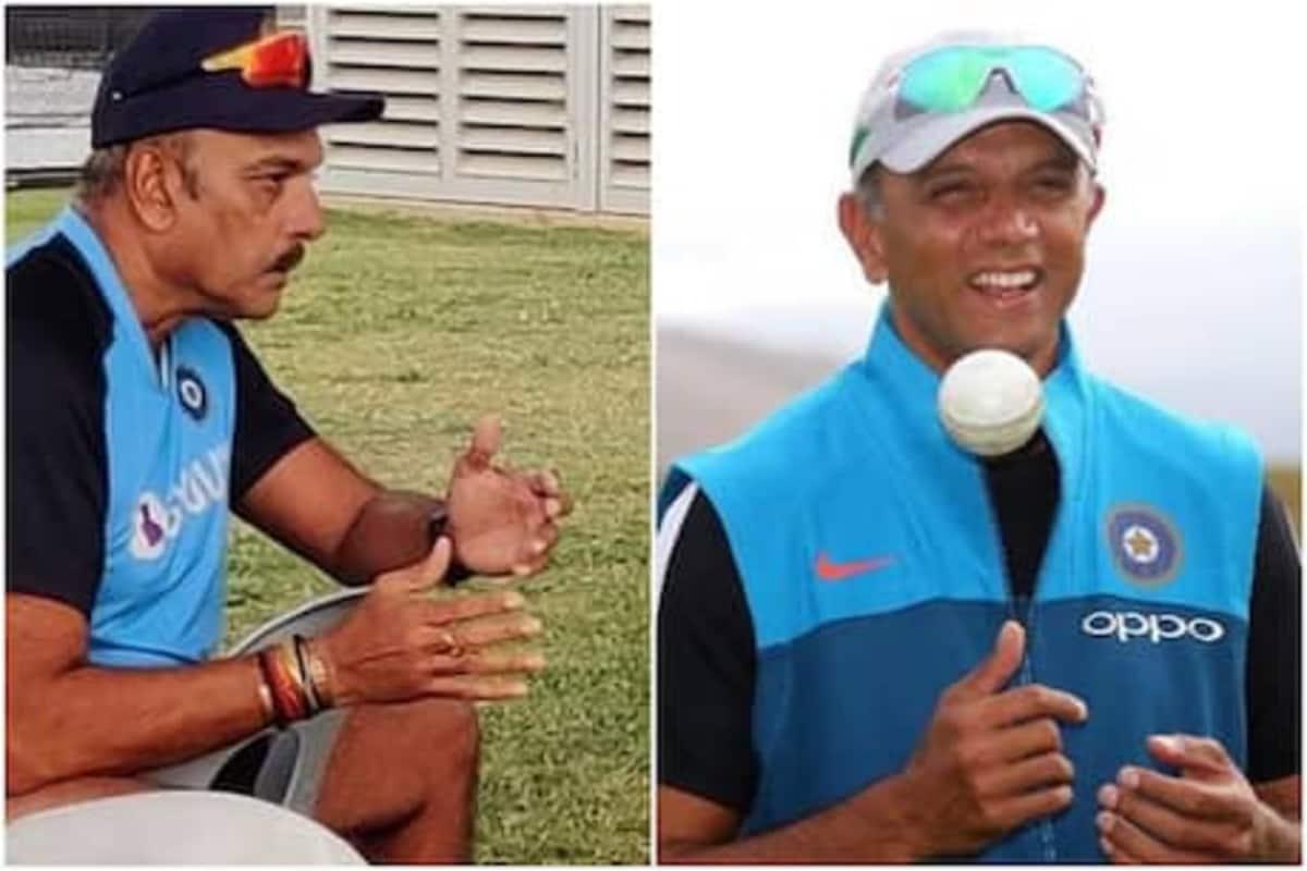 IND vs AUS : ...म्हणून चाहते शास्त्री नाही तर द्रविडला करतायत सलाम!