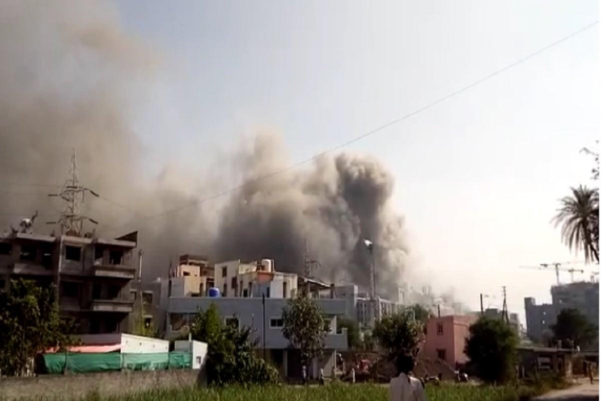 सीरम इन्स्टिट्यूटच्या बीसीजी लशीचा प्लांट असलेल्या  इमारतीमध्ये आग लागली आहे. पंतप्रधान नरेंद्र मोदी यांनी सिरम इन्स्टिट्यूट ला भेट दिली होती त्याच इमारतीत ही आग लागलेली आहे