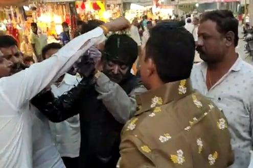 भाजपच्या माजी शहराध्यक्षाला मारहाण प्रकरणी 25 शिवसैनिकांवर गुन्हे दाखल