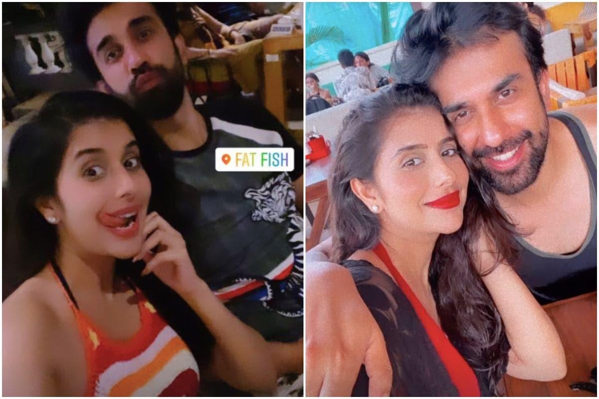 चारू सध्या पती राजीव सेनसोबत गोव्यात सुट्टीचा आनंद घेत आहे. (Instagram @Charuasopa)