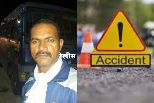 धुळे-सोलापूर राष्ट्रीय महामार्गावर भीषण अपघात; कर्तव्यावर असलेल्या पोलिसाचा दुर्देवी मृत्यू