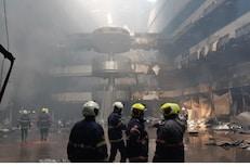 कोविड रुग्णालयाल आग प्रकरण: दोन आरोपींना अटक