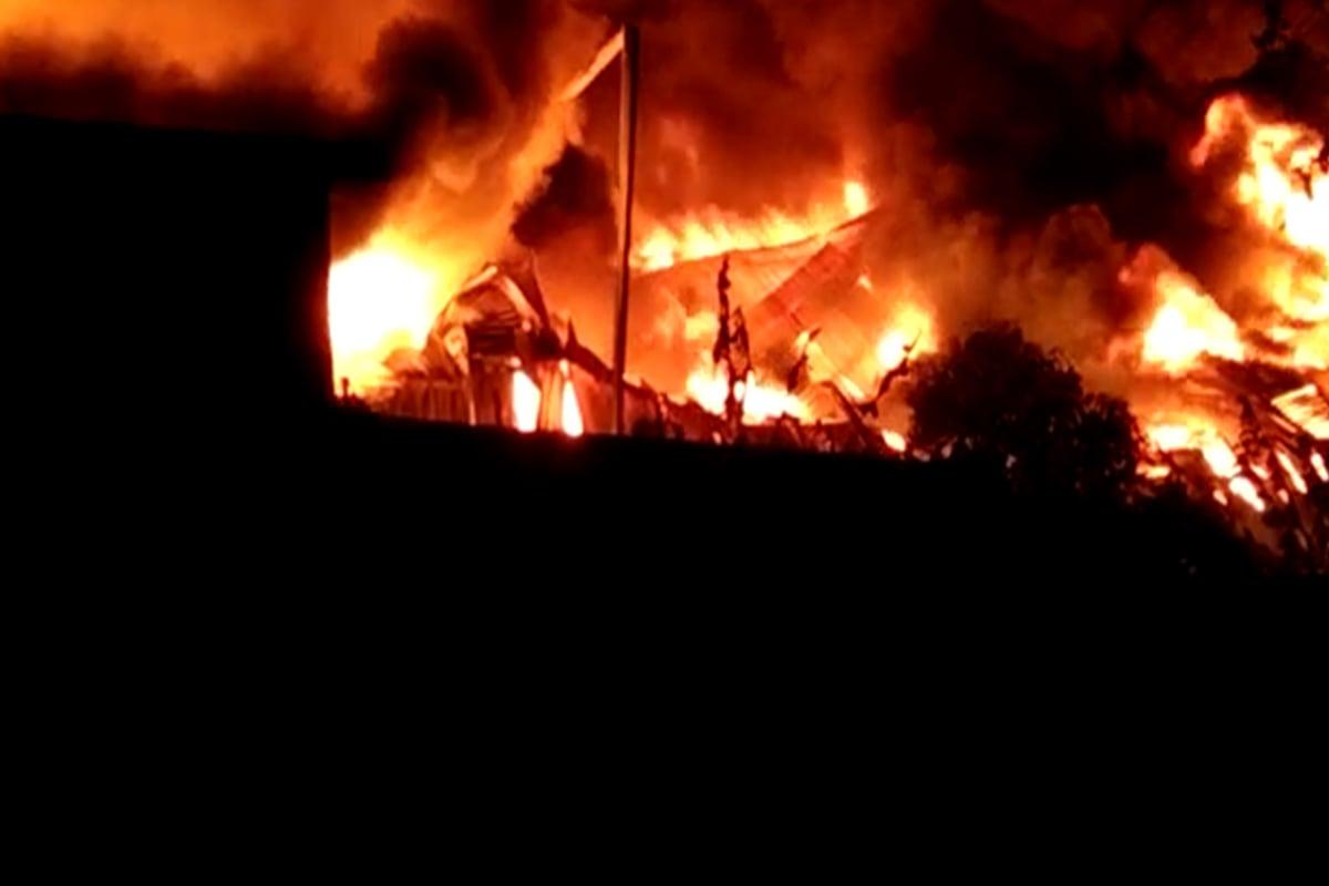 गेल्या काही दिवसांपासून भिवंडीत गोदाम आणि कंपन्यांना आग लागल्याच्या घटना वारंवार घडत आहे.