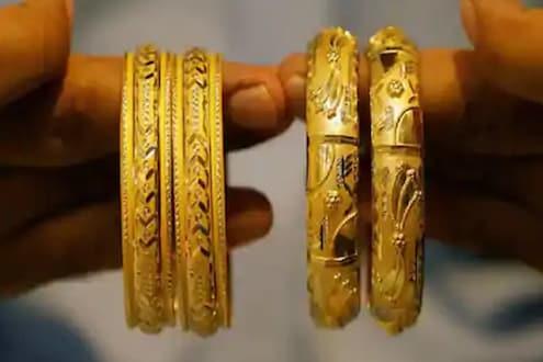 Gold Price Today: उच्चांकी स्तरावरुन सोने दरात मोठी घसरण, तर चांदीचा भाव वधारला; वाचा आजचा लेटेस्ट रेट