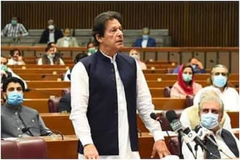 बहुमताच्या 'टेस्ट'मध्ये इम्रान खान विजयी, विरोधकांनी मतदानापूर्वी सोडले मैदान