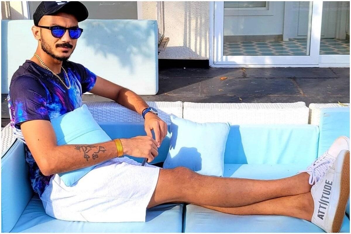 अक्षर पटेल : दिल्ली कॅपिटल्सचा ऑलराऊंडर अक्षर पटेल याला कोरोनाची लागण झाली आहे. सध्या तो आयसोलेशनमध्ये आहे. दिल्लीचा पहिला सामना 10 एप्रिलला चेन्नई सुपरकिंग्सविरुद्ध आहे. या मॅचमध्ये अक्षर खेळणार नाही. (Axar Patel/Instagram)
